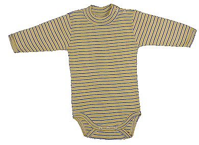 Under the Nile Organic Cotton long-sleeve onesie