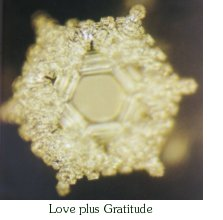 love-enriched water crystal